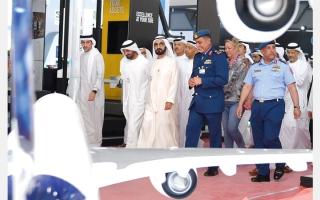 الصورة: محمد بن راشد: الإمارات ملتقى حضاري وإنساني وتجاري لدول وشعوب العالم