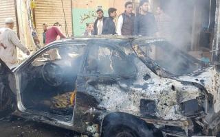 الصورة: 19 قتيلاً بانفجار سيارة مفخخة في شمال سورية
