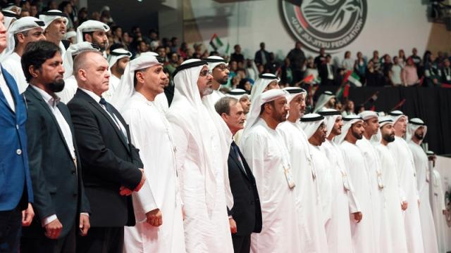 Khalid Bin Mohammed Bin Zayed Inaugurates The World