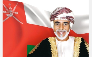 الصورة: محمد بن راشد يبارك لسلطنة عمان ذكرى اليوم الوطني الـ49