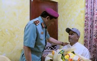 الصورة: شرطة رأس الخيمة للمزارع عثمان: أنت جزء منا