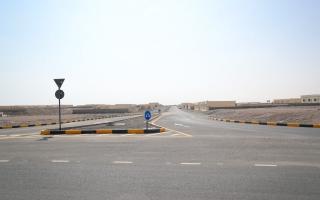 الصورة: الانتهاء من شبكة طرق بطول 8.2 كيلومترات بالمناطق الصناعية في الشارقة