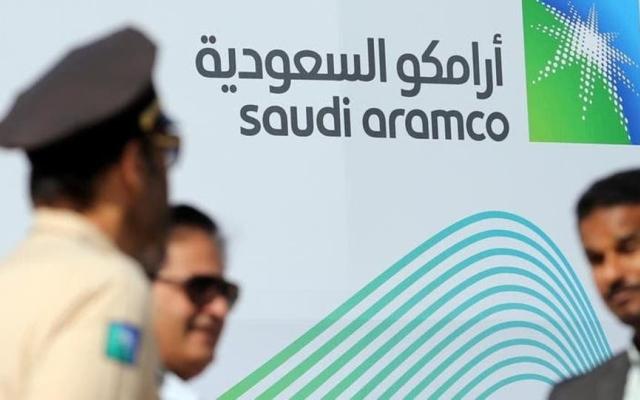 """الصورة: """" أرامكو السعودية """" تحدد النطاق السعري للطرح الأولي بين 30 و32 ريالاً للسهم"""