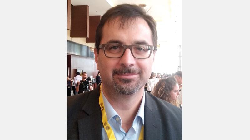 جيامبيرو تريزي:  «(إكسبو 2020 دبي) سيتيح خدمات رقمية تعتبر الأكثر تطوّراً، خصوصاً بعد طرح الجيل الخامس».