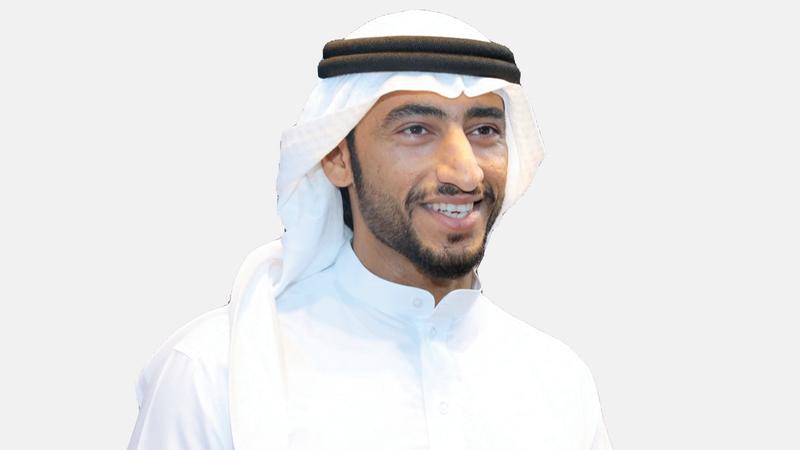 عبدالله الشرقي رئيس اتحاد الإمارات لبناء الأجسام واللياقة البدنية. من المصدر