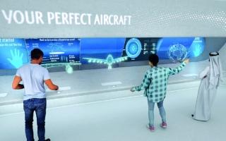 الصورة: «طيران الإمارات» تتيح تصميم الطائرات والتحليق بها في «إكسبو 2020 دبي»