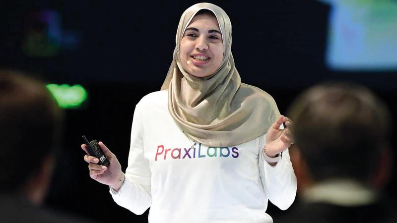 خديجة البدويهي (33 عاماً).  من المصدر