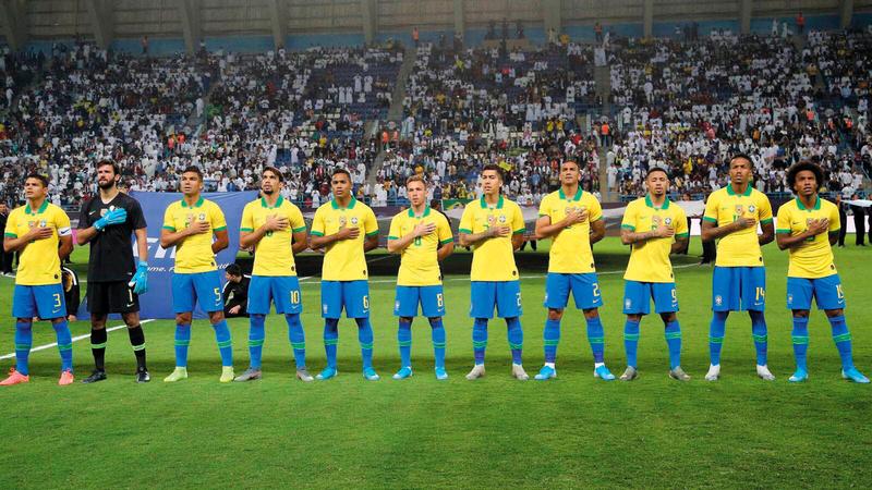 المنتخب البرازيلي يخوض اختبارات ودية استعداداً لتصفيات مونديال 2022. أ.ف.ب