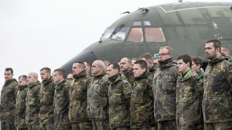 الجيش الأوروبي غير مؤهل لخلافة القوات الأميركية.  أرشيفية