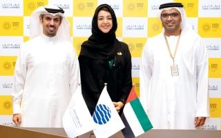 الصورة: «غرفة دبي» شريكاً رسمياً لـ «إكسبو 2020 دبي»