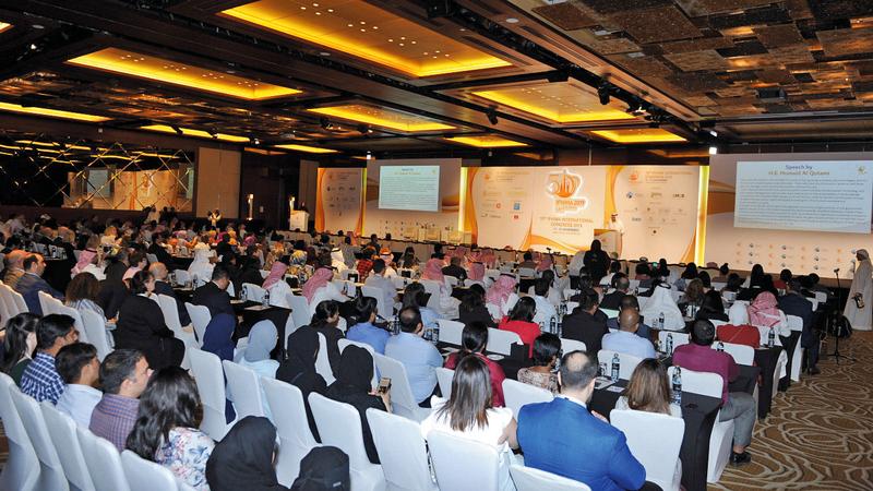 المشاركون في المؤتمر أكدوا أن التحول نحو النظم الإلكترونية يحد من الأخطاء الطبية. من المصدر