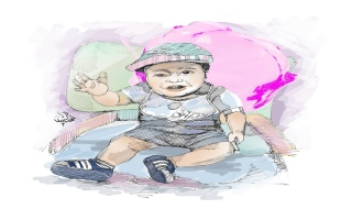 """الصورة: محاكم دبي تحسم أول نزاع أسري حول طفلة ولدت بـ """"رحم مستأجر"""""""