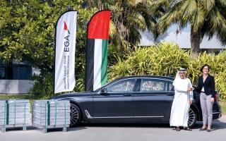 الصورة: «الإمارات العالمية» تزيد إمدادات الألمنيوم المصنّع محلياً لـ «بي إم دبليو»