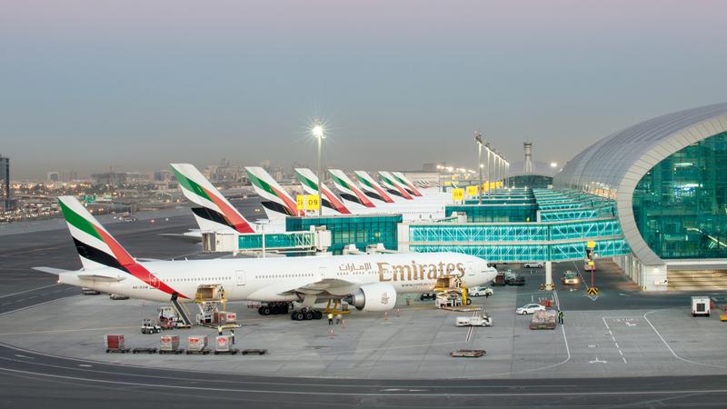 مطار دبي الدولي سيواصل الاستثمار في أحدث الخدمات. أرشيفية