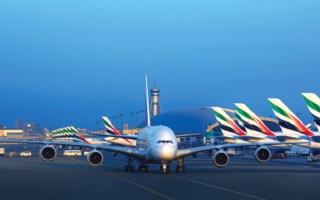 الصورة: غرافيك.. شركات الطيران الوطنية تستحوذ على 78.4% من السعة المقعدية في السوق الإماراتية