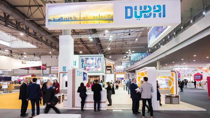 قطاع فعاليات الأعمال إحدى الركائز الأساسية لقطاع السياحة بوجه خاص واقتصاد دبي بوجه عام.  من المصدر