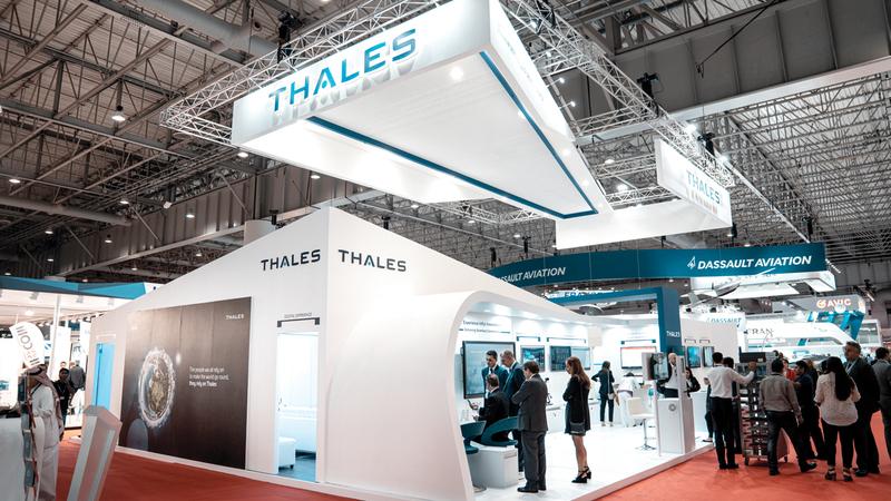 شركة تاليس أكدت حرصها على المشاركة في معرض دبي للطيران.  من المصدر