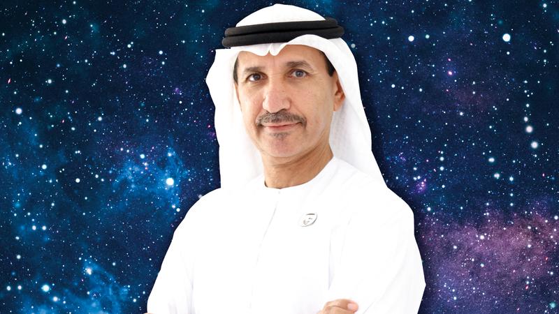 محمد ناصر الأحبابي:  «تطوير القمر الاصطناعي سيتم في المركز الوطني  لعلوم وتكنولوجيا الفضاء بجامعة الإمارات».