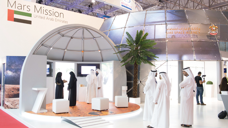«الإمارات للفضاء» أكدت أن خطة العمل ستتم مناقشتها مع المجموعة العربية للتعاون الفضائي.  أرشيفية