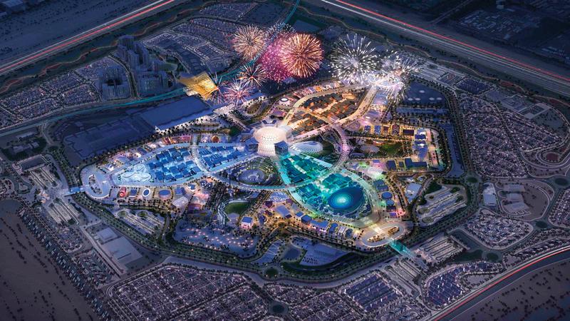 استضافة الإمارات لـ«إكسبو 2020 دبي» إنجاز كبير باعتباره حدثاً عالمياً وتاريخياً.  أرشيفية