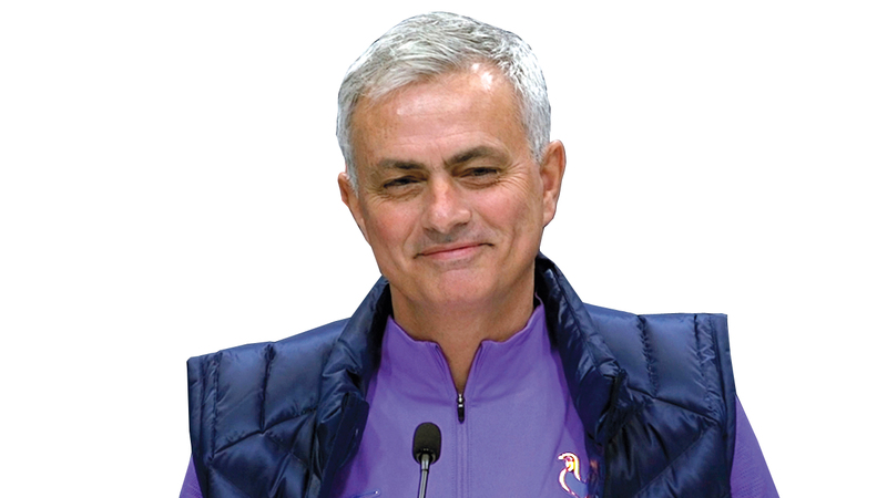 المدرب البرتغالي جوزيه مورينيو