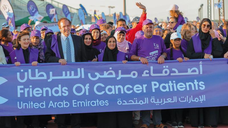 المسيرة شهدت إقبالاً كبيراً ونوعياً. من المصدر