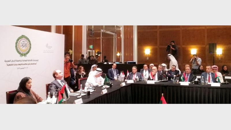 «وطني الإمارات» قدمت ورقة عمل بعنوان «دور الإعلام في مكافحة الإرهاب». من المصدر