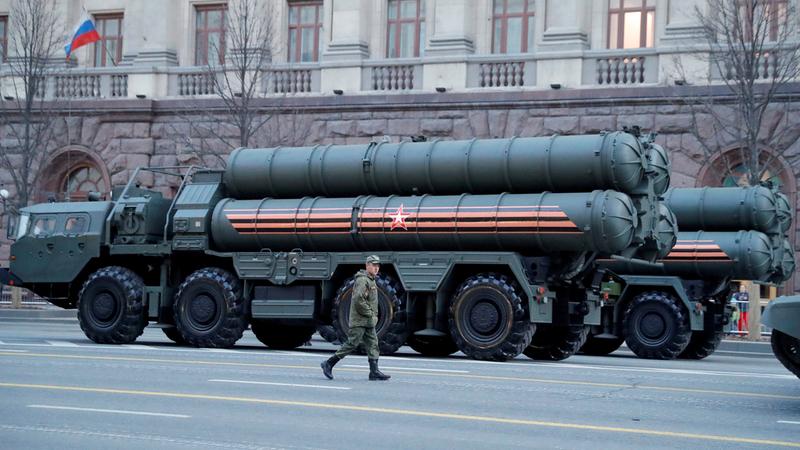 منظومة صواريخ «إس 400» الروسية. رويترز