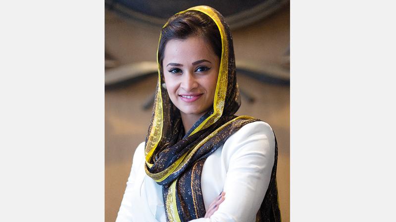 عائشة الهاملي: «فخورة باعتباري أول امرأة إماراتية وعربية تترشح لهذا المنصب المهم».