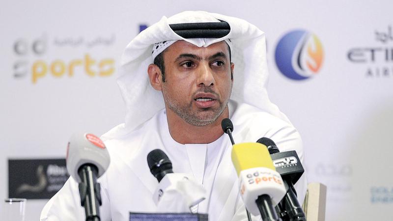 فهد علي : المدير التنفيذي لاتحاد الجوجيتسو