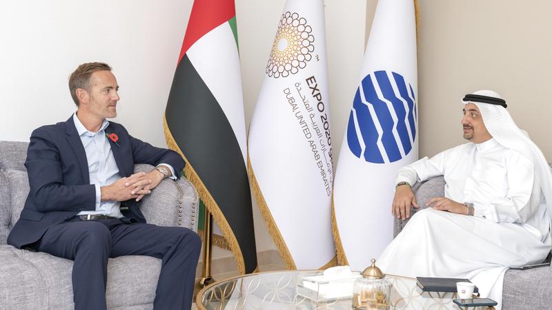العلي أكد خلال لقائه رئيس «إنفورما» أنه سيتم استقطاب فعاليات ممتعة وشعبية إلى مركز دبي للمعارض. من المصدر