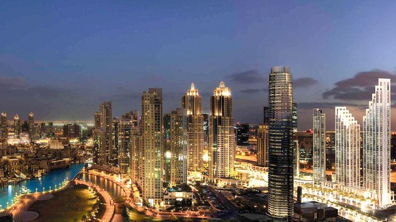 «وسط مدينة دبي» و«سوق البحار» يحتضنان مجموعة واسعة من الأنشطة.  أرشيفية