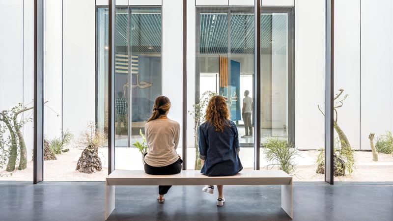 مركز جميل للفنون وجهة ثقافية مبتكرة في دبي. أرشيفية