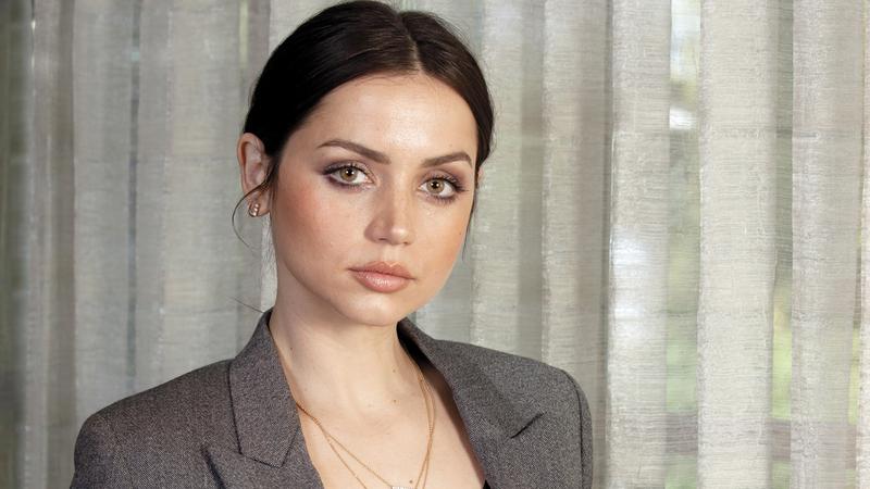 آنا دي أرماس: لم أتخيل أن يكون لممثلة لاتينية هذا الوجود الكبير في السيناريو. أ.ب