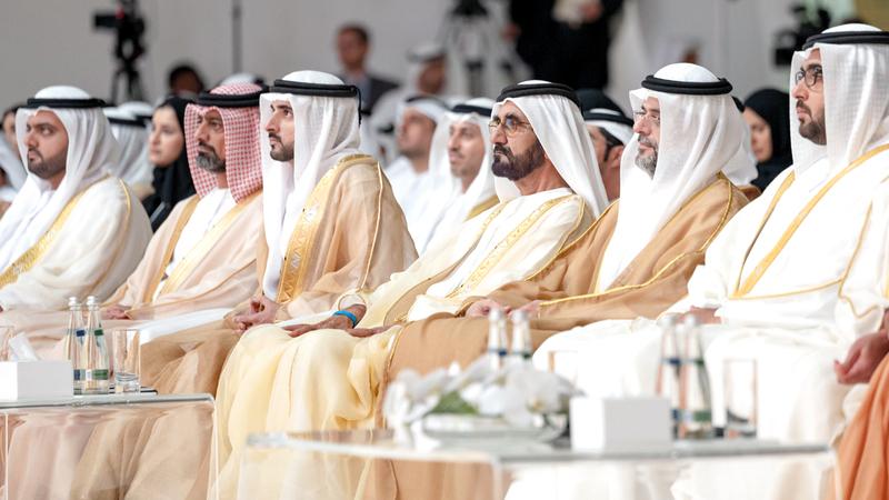 محمد بن راشد وجه بتخصيص «أوائل الإمارات 2019» هذا العام للاحتفاء بالمبادرات الرائدة في التسامح. وام