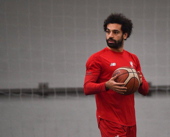 محمد صلاح وكرة السلة