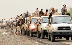 الصورة: القوات المشتركة تفشل مخططــاً حوثياً لتفجير الوضع عسكرياً في الحديدة