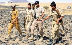 الصورة: القوات اليمنية المشتركة تدخل أولى قرى مديرية الحشاء في الضالع