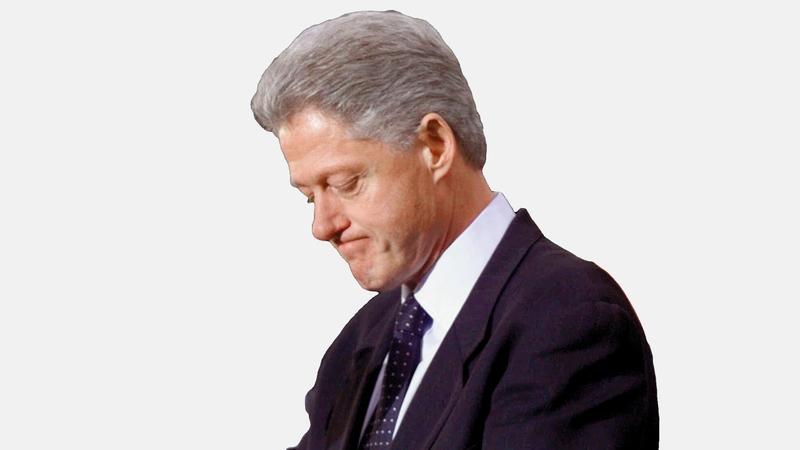 تمت محاكمة  الرئيس بيل كلينتون بسبب الكذب. ارشيفية