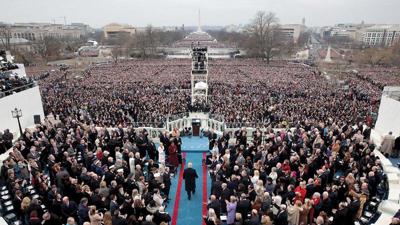 سلطة الرئيس كانت محل جدل منذ تأسيس الولايات المتحدة. أرشيفية