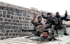 الصورة: الحكومة السورية تستعيد بعض النقاط  في ريف إدلب