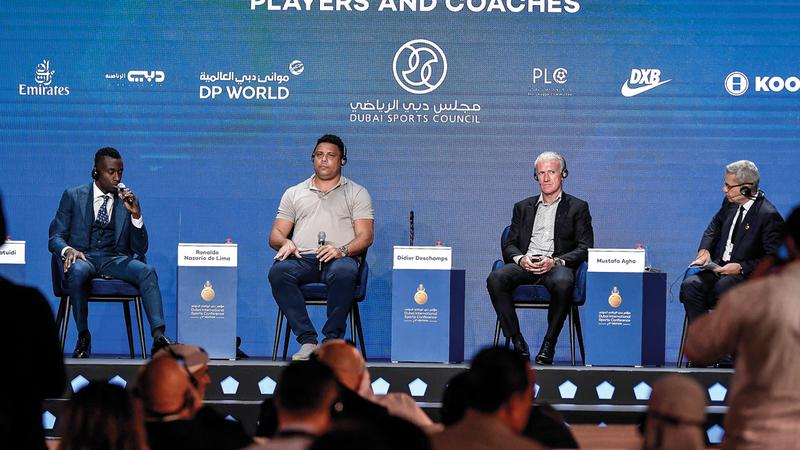 المؤتمر أصبح منصة عالمية لتطوير كرة القدم. من المصدر
