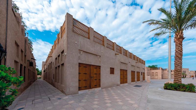 المنطقة ستضيف منصّة ثقافية تعكس تاريخ دبي وتراثها. من المصدر