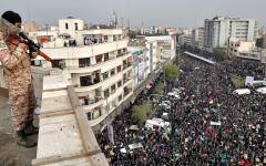 الصورة: احتجاجات نوفمبر 2019 تختلف  عن أحداث ديسمبر 2017