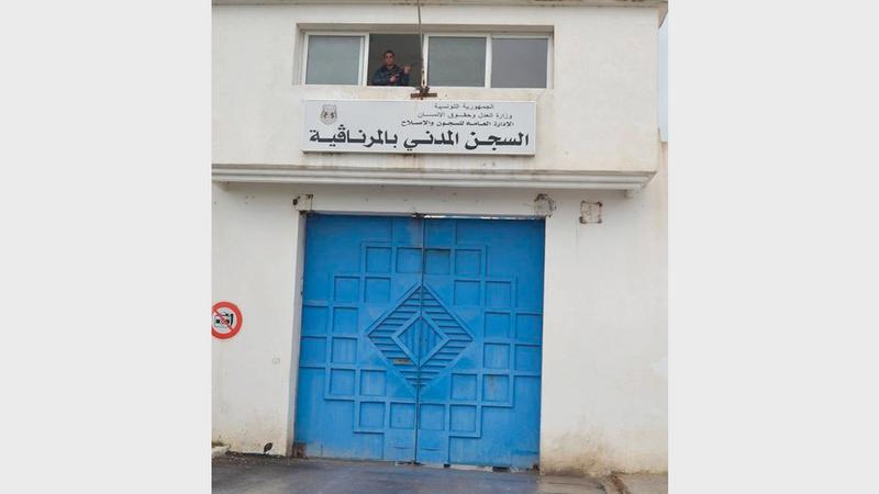 السجون التونسية ترمز إلى النظام القضائي القمعي ضد المشتبه فيهم. أرشيفية
