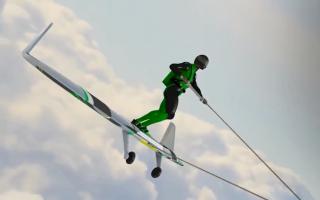 """الصورة: بالفيديو.. """"ويب بورد"""" حلم عشاق المغامرة والطيران"""