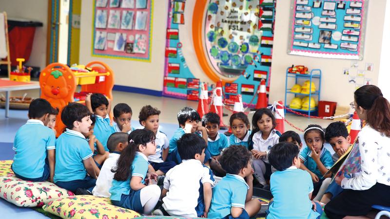 المدارس الخاصة في دبي حلَّت بالمرتبة الـ19 عالمياً.  أرشيفية