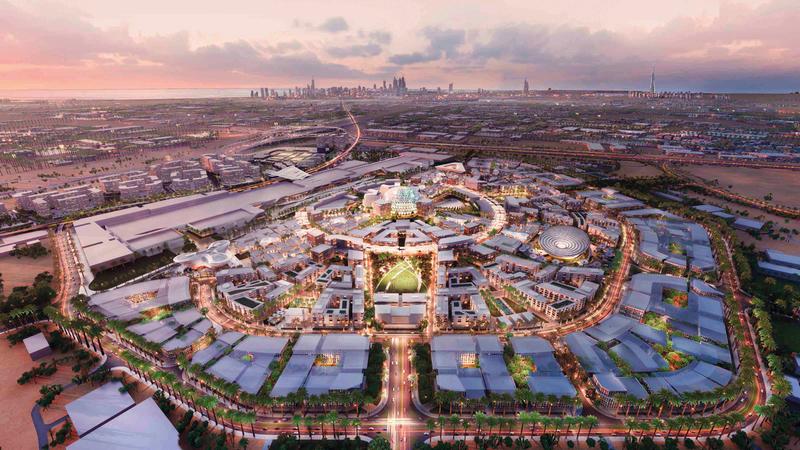 «إكسبو 2020 دبي» سيؤثر إيجاباً في جميع القطاعات سواء قبل انطلاقه أو خلال انعقاده على مدى 6 أشهر.  من المصدر