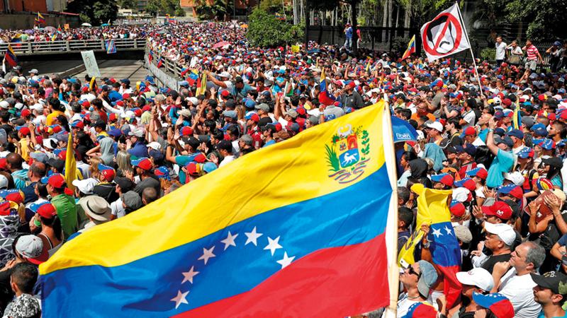 فنزويلا بحاجة إلى المساعدة بشكل مُلح. أرشيفية