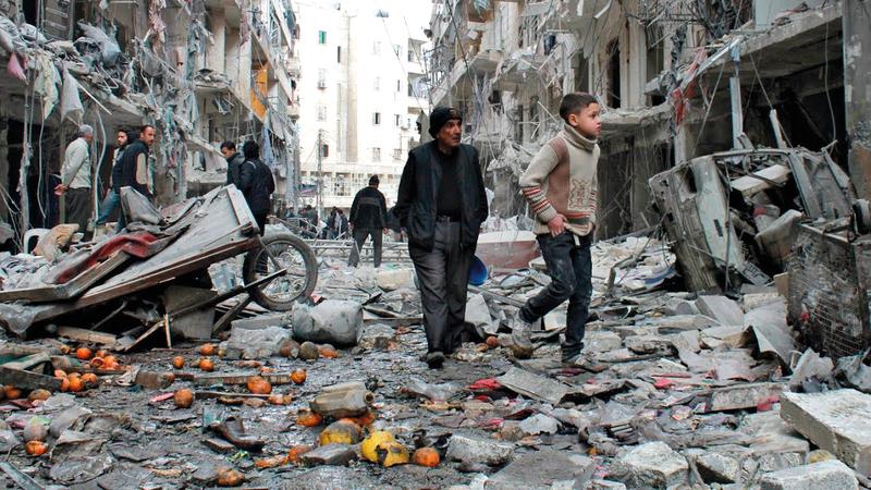 الحرب السورية من أكثر النزاعات كلفة للأمم المتحدة. أرشيفية